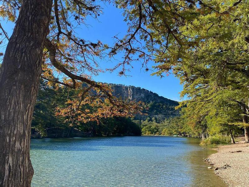 Garner State Park lake