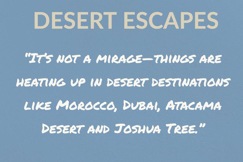 Desert Escapes
