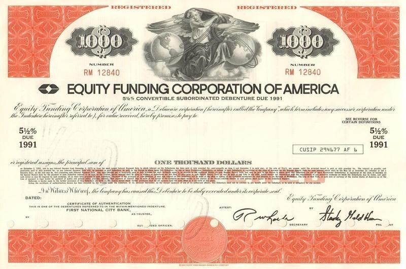 Equity Funding Bond