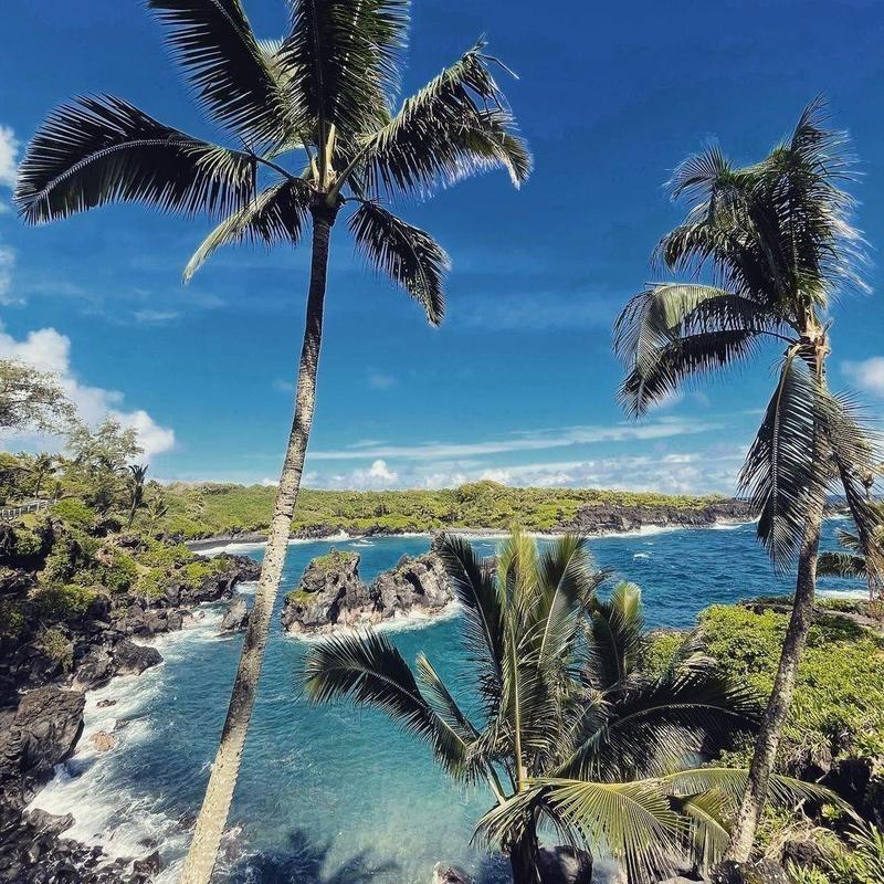 Waianapanapa State Park, Hana, Hawaii