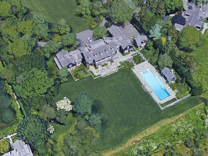 Seinfeld's house in the Hamptons
