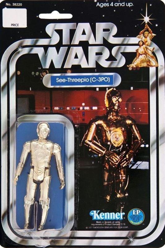 C3PO action figure (1978)