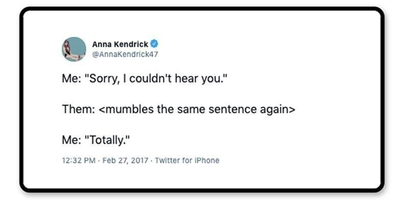 Anna Kendrick tweet about making keeping friends