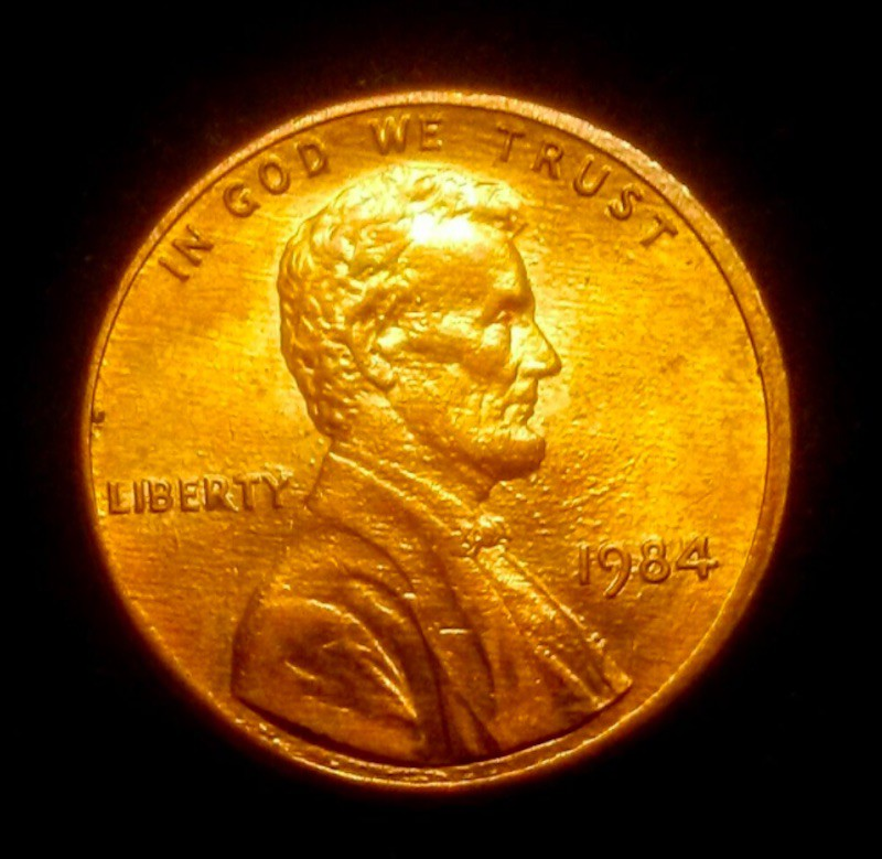 1984 Lincoln Memorial Cent (Doubled Die Ear)