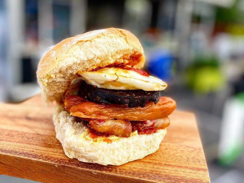 Breakfast blaa, Ireland hangover food