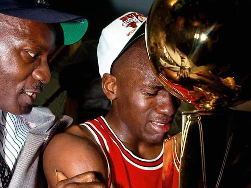 James Jordan and Michael Jordan