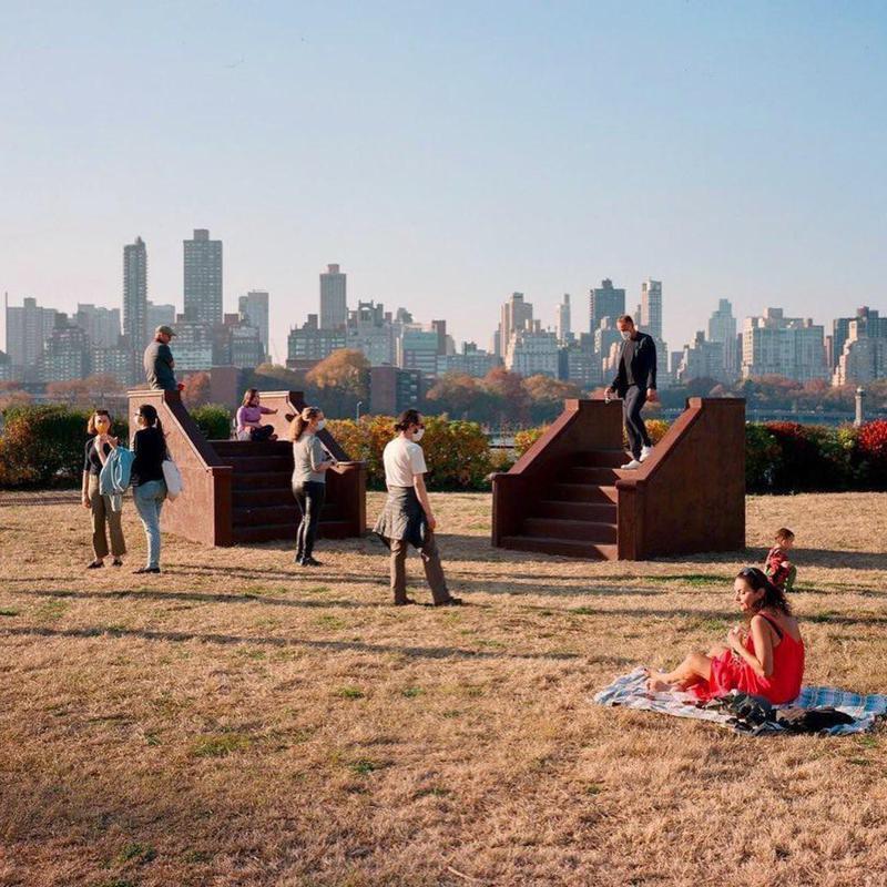 Socrates Sculpture Park city view