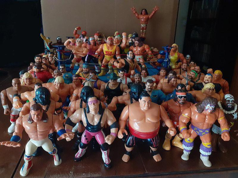 WWF Figurines