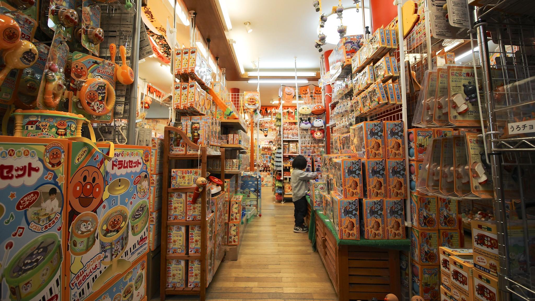 An Anpanman shop in Japan