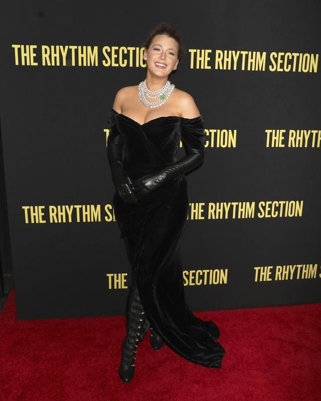 """Blake Lively at """"The Rhythm Section"""" screening"""