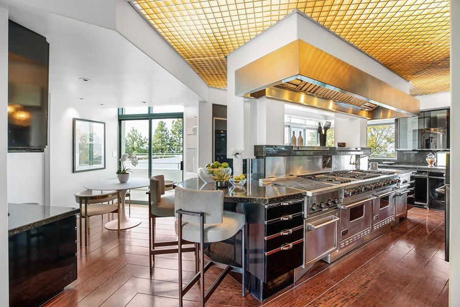 Pharrell Williams' kitchen