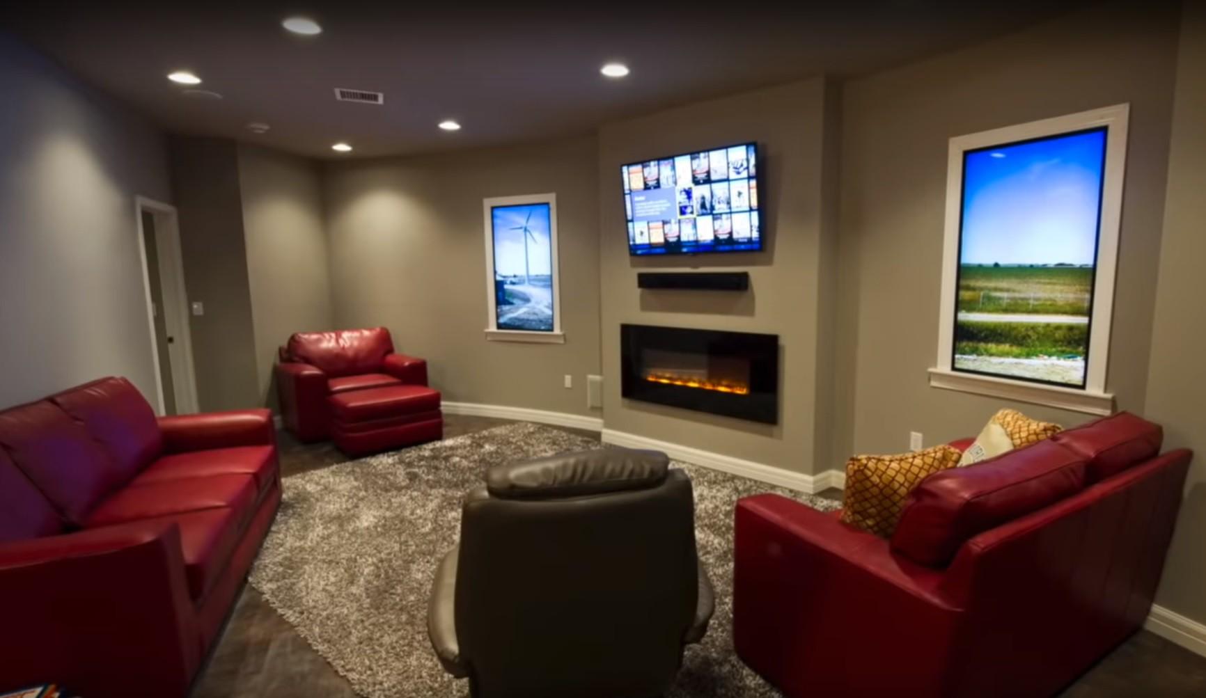 Survival condo family room