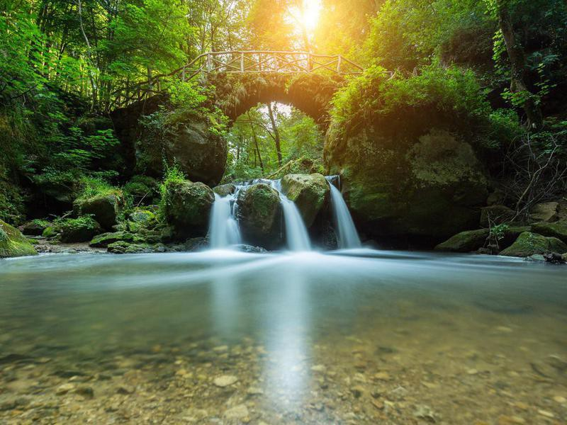 Schiessentümpel Waterfall
