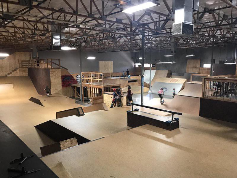 AZ Grind Indoor Skatepark in Mesa, Arizona