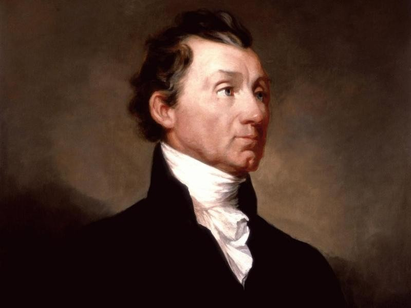 Painting of President James Monroe