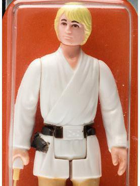 Luke Skywalker With Double-Telescoping Lightsaber