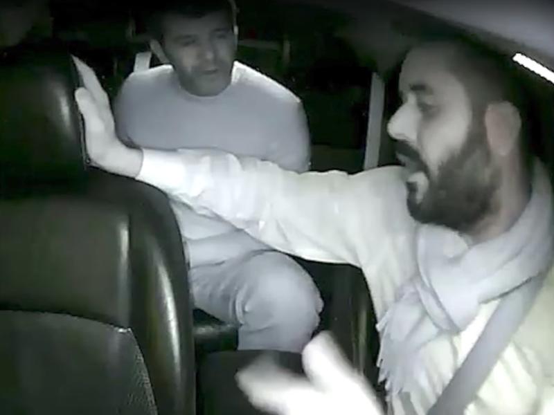 Kalanick berates a Uber Black driver