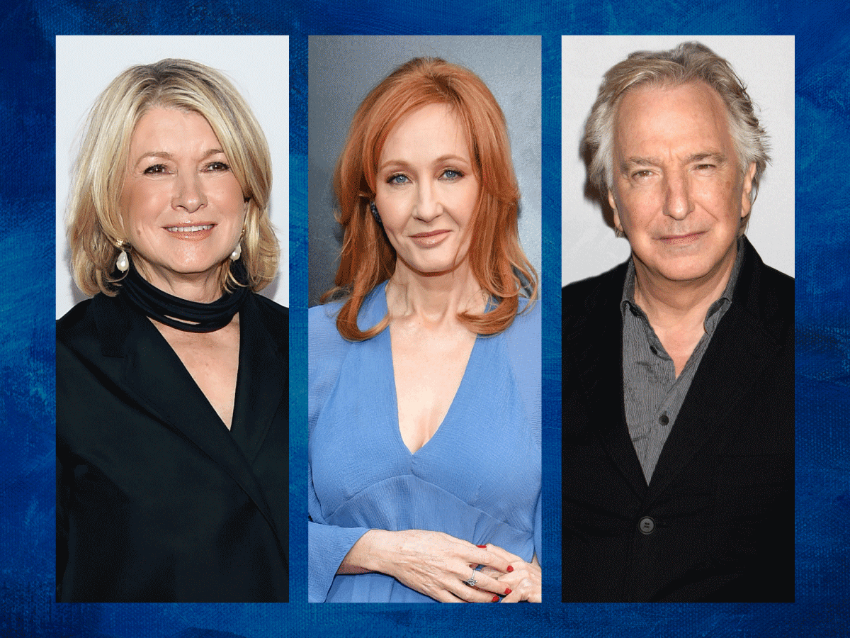 Rowling, Rickman and Stewart