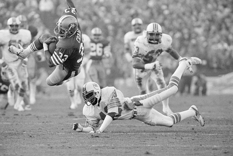 Roger Craig in Super Bowl XIX