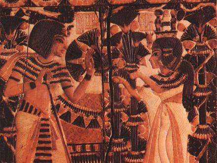 King Tut and Ankhesenamun