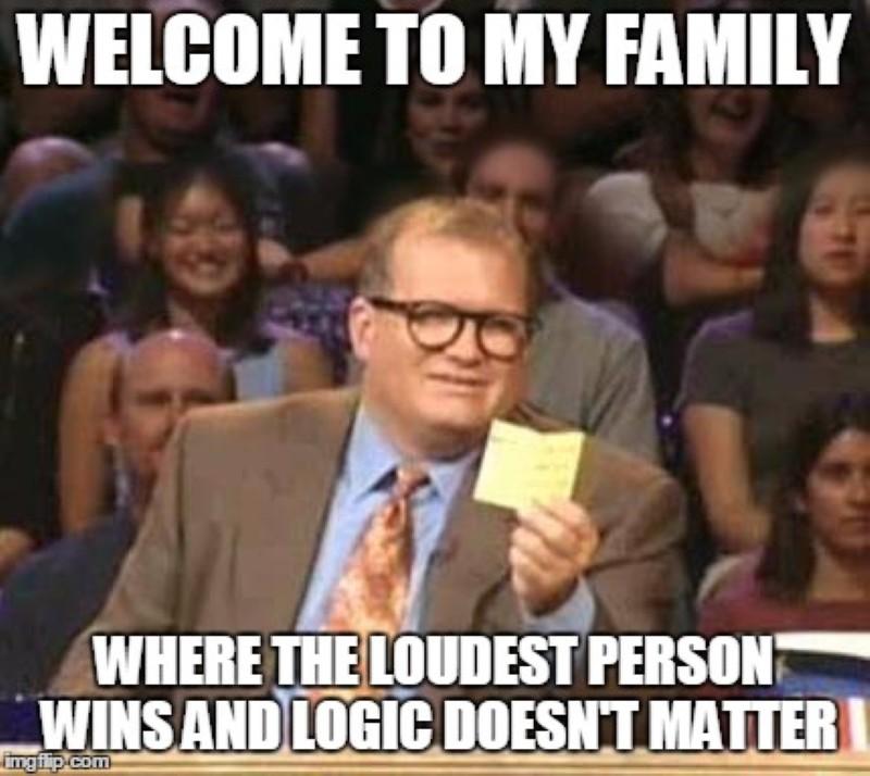 Loud family meme