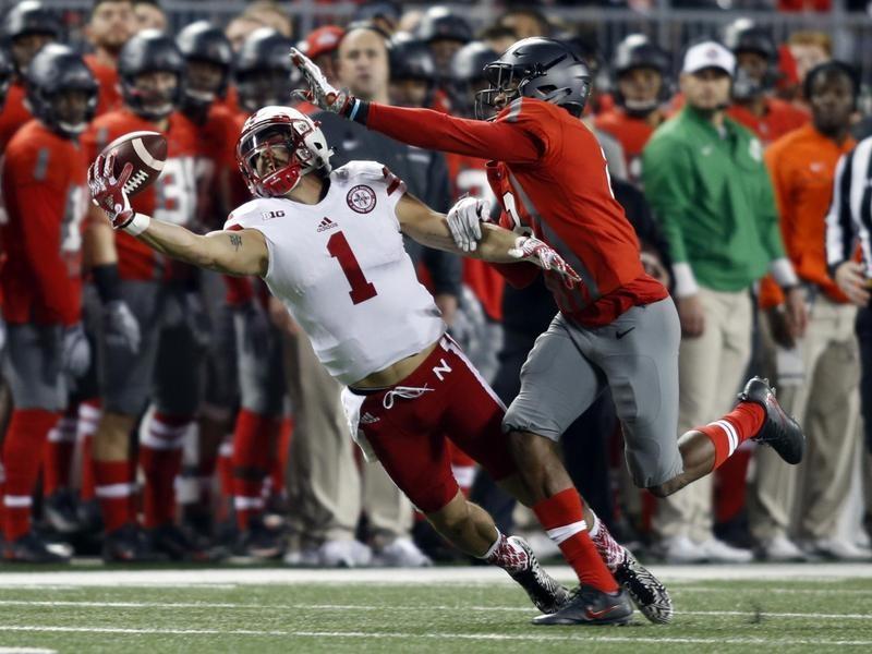 University of Nebraska wide receiver Jordan Westerkamp