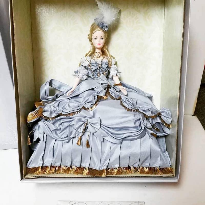 Marie Antoinette Barbie in box