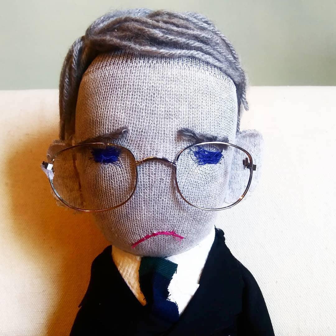 Fauci sock puppet