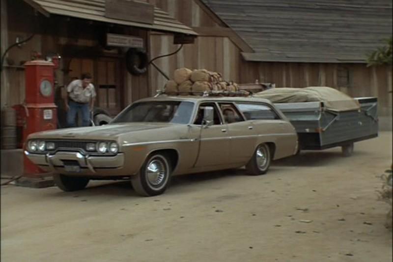 43. 1971 Plymouth Satellite Regent wagon
