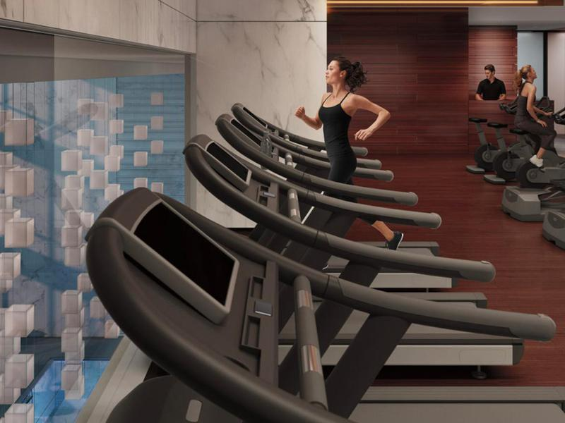 The One57 fitness gym