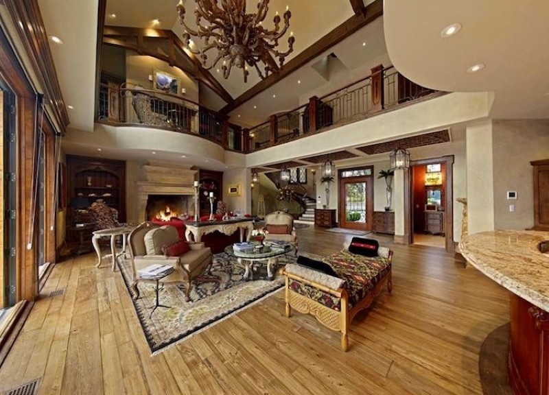 Vacation living room