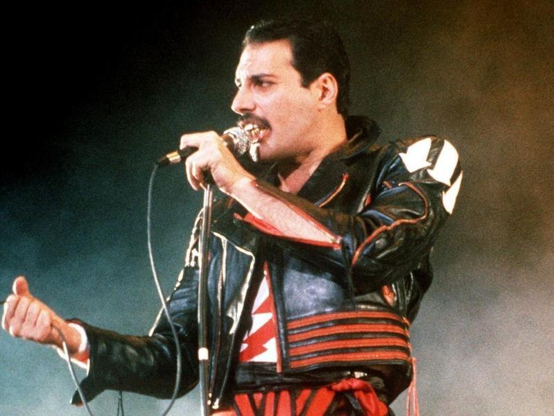 Freddie Mercury in 1985