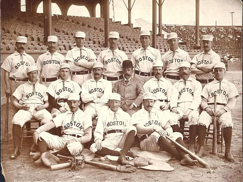 Frank Selee and  the  1890 Boston Beaneaters