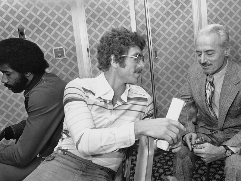 Mike Schmidt and Marvin Miller