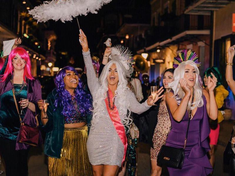 Bachelorette party in New Orleans