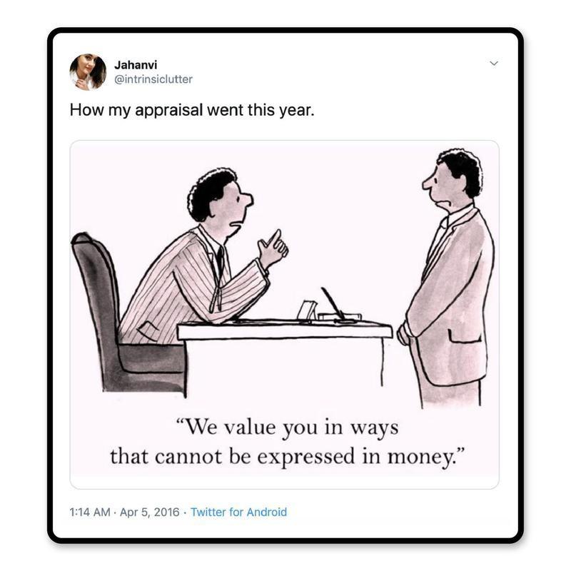 Work appraisal