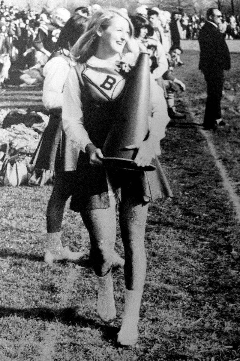 Meryl Streep high school cheerleading