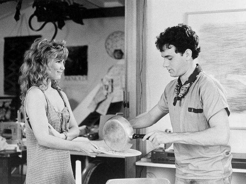 Tom Hanks and Tawny Kitaen