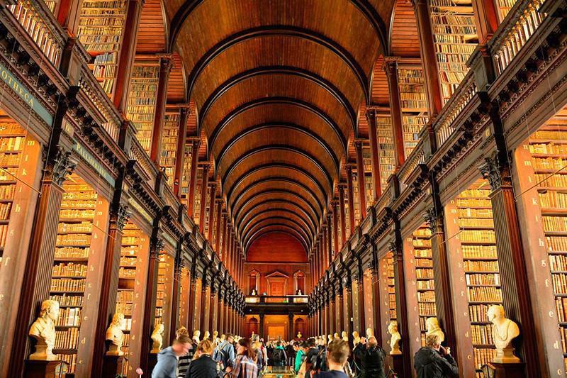 University library in Ireland