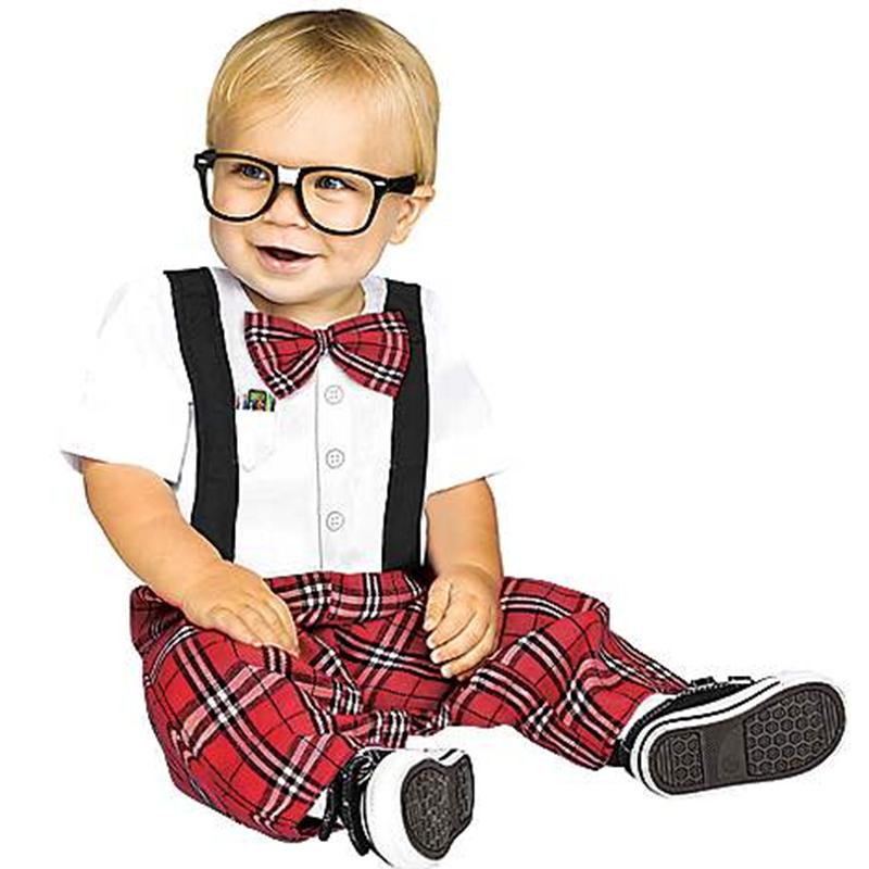baby nerd costume