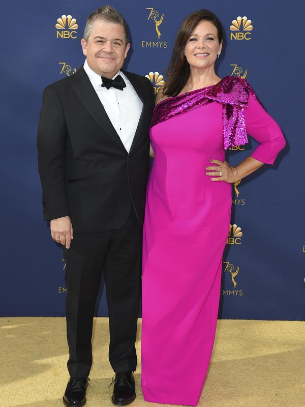 Patton Oswalt & Meredith Salenger
