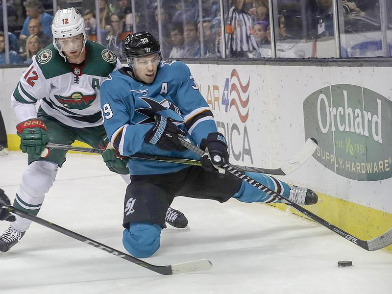 Logan Couture and Eric Staal