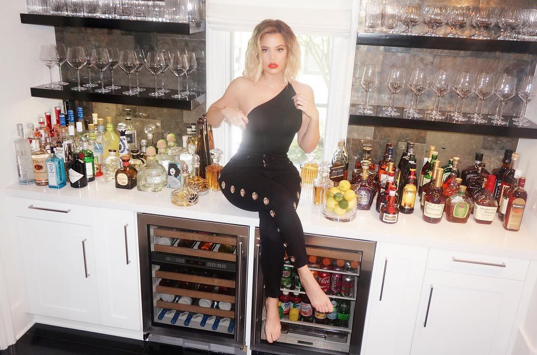 Khloe Kardashian's bar