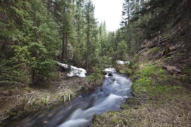 River in the Telluride mountain
