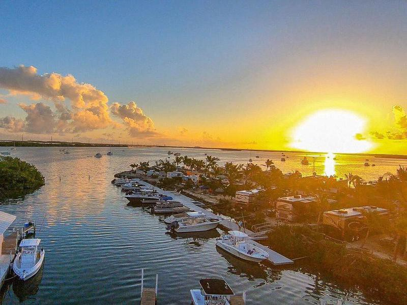 Boyd's Key West Campground at sunrise