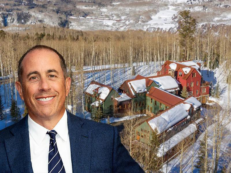 Jerry Seinfeld and his house