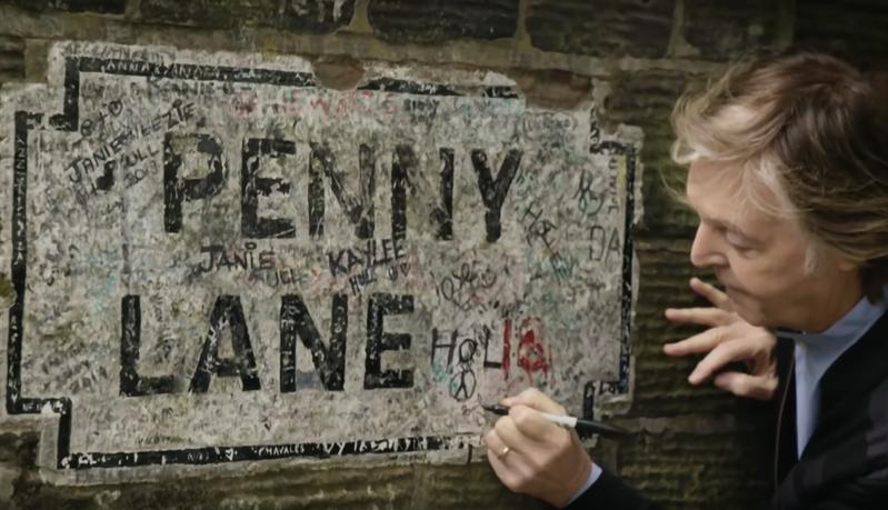 McCartney Penny Lane