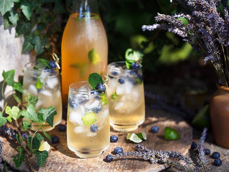 Add a DIY Cocktail (or Mocktail) Bar