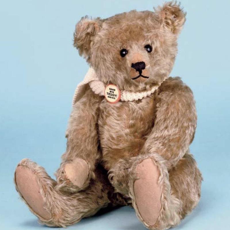 Blonde Mohair Steiff Teddy
