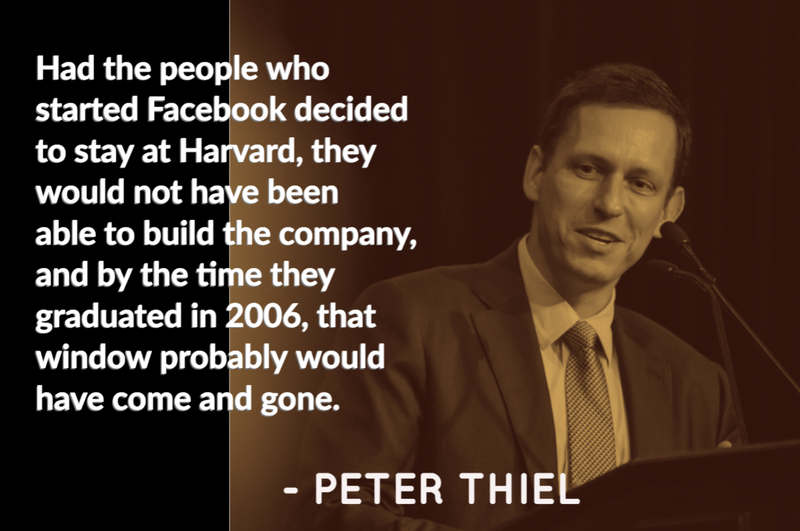 Peter Thiel quote